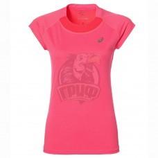 Футболка спортивная женская Asics Capsleeve Top (розовый)