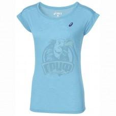 Футболка спортивная женская Asics Layering Top (голубой)