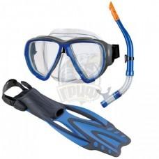 Набор для плавания Beco (маска + трубка + ласты)
