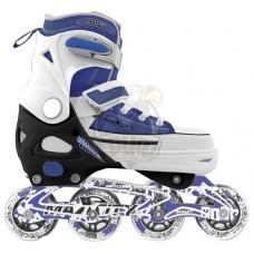 Роликовые коньки раздвижные Maxcity Smart Blue