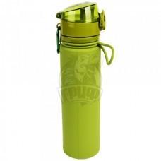 Бутылка (сититерм) силиконовая Tramp 700 мл (зеленый)