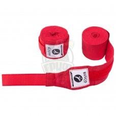 Бинт боксерский Rusco 4,5 м (красный)