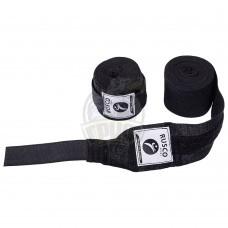 Бинт боксерский Rusco 4,5 м (черный)