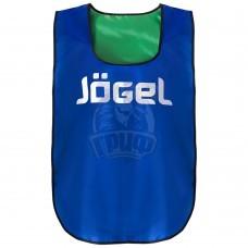 Манишка двухсторонняя Jogel (синий/зеленый)