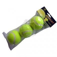 Мячи теннисные Dobest (3 мяча в пакете)