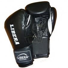 Перчатки боксерские Libera American кожа