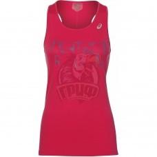 Футболка спортивная женская Asics Silver Graphic Tank (розовый)