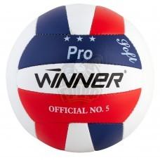 Мяч волейбольный тренировочный Winner Pro (синий/красный)