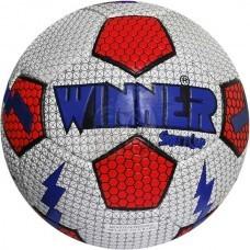 Мяч футбольный тренировочный Winner Street Cup №5 (белый/красный)