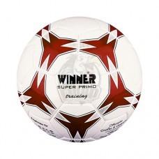 Мяч футбольный тренировочный Winner Super Primo №3 (красный)
