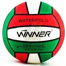 Мяч для водного поло тренировочный Winner №5 (зеленый/красный)