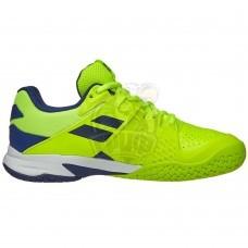 Кроссовки теннисные детские Babolat Propulse All Court Jr (желтый/синий)