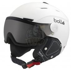 Шлем Bolle Backline Visor Premium 314 с линзой Soft Black & White With