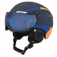 Шлем Bolle B-Yond Visor 314 с линзой Navy & Orange With