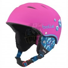 Шлем подростковый Bolle B-Free 314 Soft Neon Pink Blocks