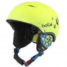 Шлем подростковый Bolle B-Free 314 Soft Neon Yellow Blocks