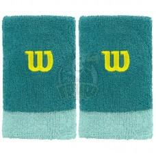 Напульсник Wilson Extra Wide Wristband (бирюзовый)
