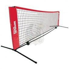 Сетка теннисная с регулировкой высоты Wilson Starter EZ Tennis Net 3,2 м