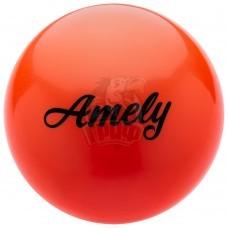 Мяч для художественной гимнастики Amely 150 мм (оранжевый)