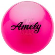Мяч для художественной гимнастики Amely 190 мм (розовый)