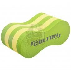 Колобашка для плавания Colton (лайм/желтый)