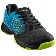 Кроссовки теннисные детские Wilson Stroke JR (синий/черный)