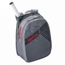 Рюкзак теннисный Wilson Junior (серый)