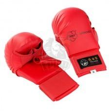 Накладки каратэ с пальцем Tokaido WKF (красный)