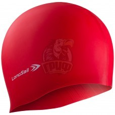 Шапочка для плавания Longsail (красный)