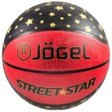 Мяч баскетбольный тренировочный Jögel Street Star Indoor/Outdoor №7
