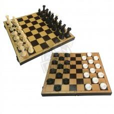 Набор игр 2 в 1 (шахматы, шашки)