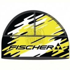 Шапка лыжная Fischer Nordic Race (черный/желтый/белый)