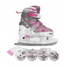 Ролики-коньки 2 в 1 Maxcity Volt Ice Combo Girl
