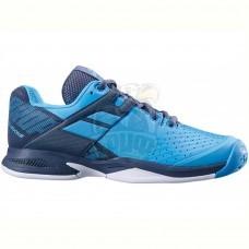 Кроссовки теннисные детские Babolat Propulse All Court JR (синий/серый)