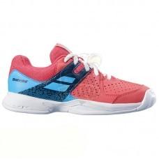Кроссовки теннисные детские Babolat Pulsion All Court JR (розовый/голубой)