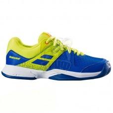 Кроссовки теннисные детские Babolat Pulsion All Court JR (синий/желтый)