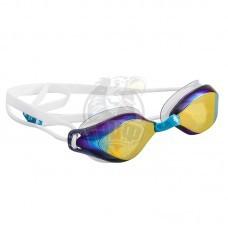 Очки для плавания тренировочные Mad Wave Vision II Rainbow (белый)