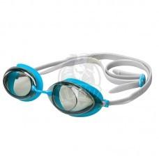 Очки для плавания тренировочные Mad Wave Lane4 (голубой)