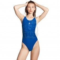 Купальник спортивный женский Mad Wave Lada (синий)