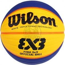 Мяч баскетбольный для стритбола профессиональный Wilson FIBA 3X3 Official Indoor/Outdoor №6