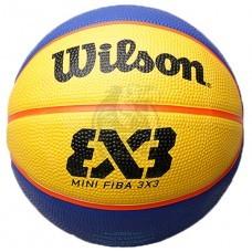 Мяч баскетбольный для стритбола тренировочный Wilson FIBA 3X3 Replica Mini Indoor/Outdoor №3
