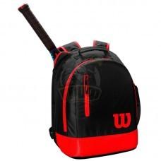 Рюкзак теннисный Wilson Youth (черный/красный)