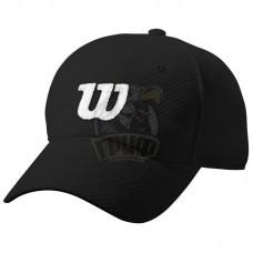 Бейсболка спортивная Wilson Summer Cap II (черный)