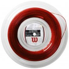 Струна теннисная Wilson Sensation Plus 1.34/200 м (красный)