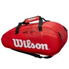 Чехол-сумка Wilson Tour 2 Large на 9 ракеток (красный)