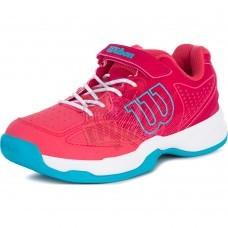 Кроссовки теннисные детские Wilson Kaos Kid (красный)