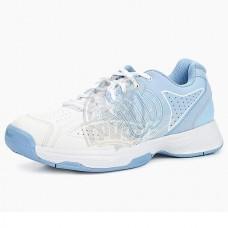 Кроссовки теннисные женские Wilson Kaos Stroke (белый/голубой)