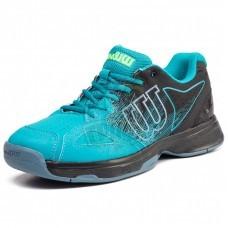 Кроссовки теннисные мужские Wilson Kaos Stroke (голубой/черный)
