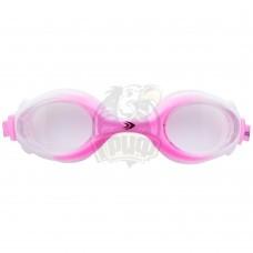 Очки для плавания подростковые Longsail Crystal (розовый/белый)