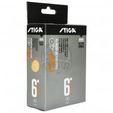 Мячи для настольного тенниса Stiga Cup 40+ (оранжевый)